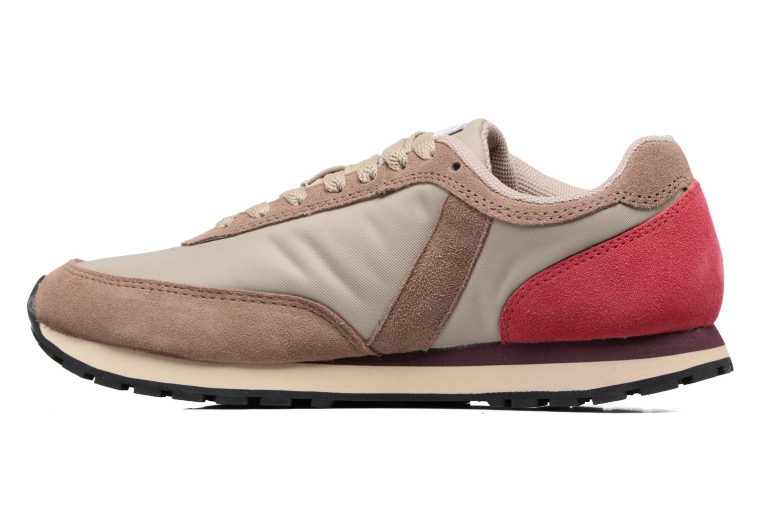 Trainers Bensimon Runnings Beige front view