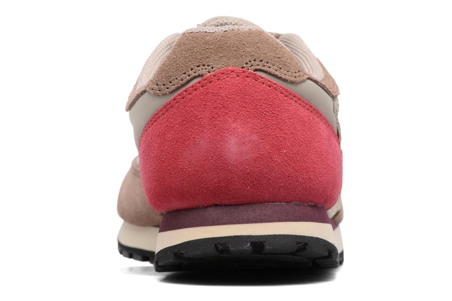 Trainers Bensimon Runnings Beige view from the right