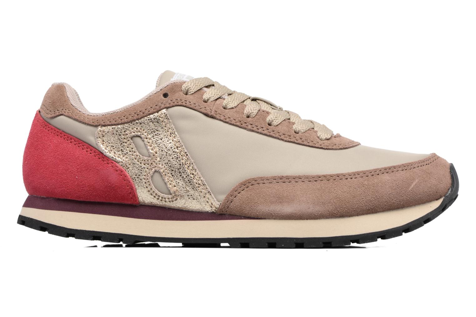 Trainers Bensimon Runnings Beige back view