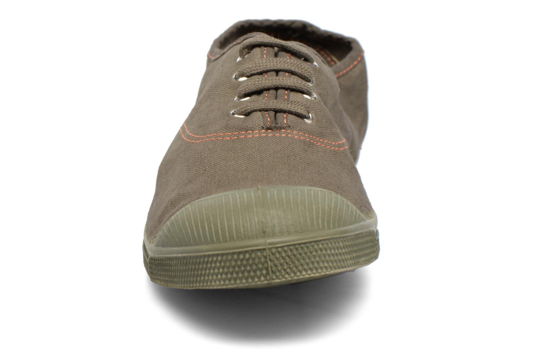Baskets Bensimon Tennis Militaire Vert vue portées chaussures