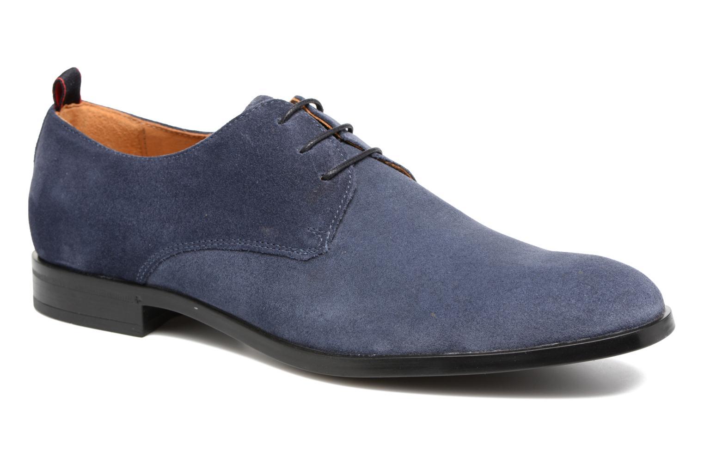 Chaussures à lacets Mr SARENZA Norage Bleu vue droite