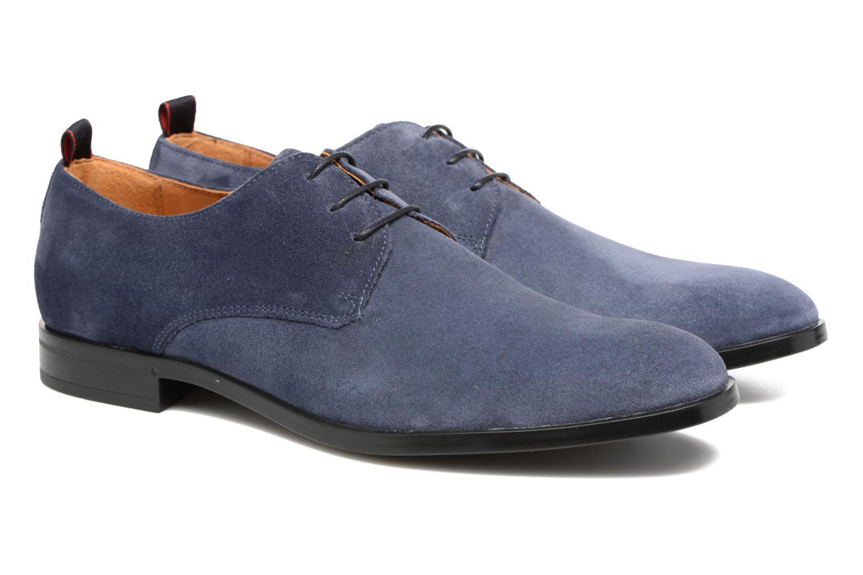 Chaussures à lacets Mr SARENZA Norage Bleu vue derrière