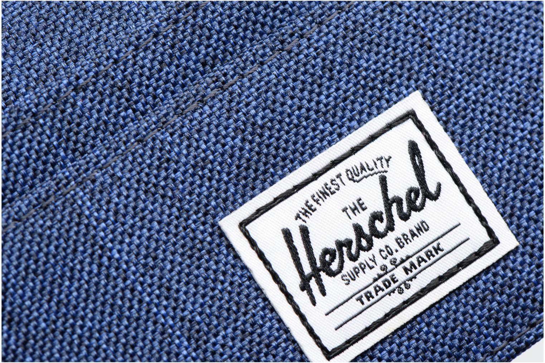 Petite Maroquinerie Herschel Charlie Bleu vue gauche