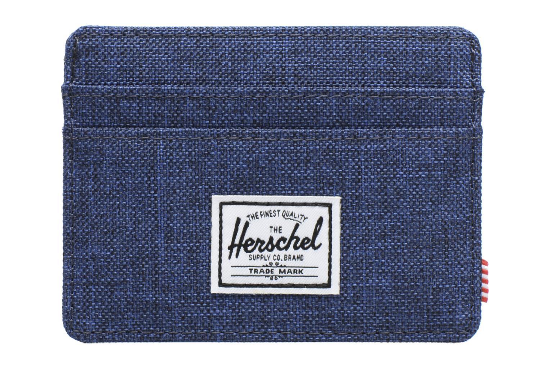 Petite Maroquinerie Herschel Charlie Bleu vue détail/paire