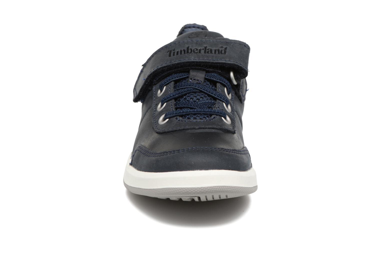 Baskets Timberland Court Side Oxford w/Strap Bleu vue portées chaussures