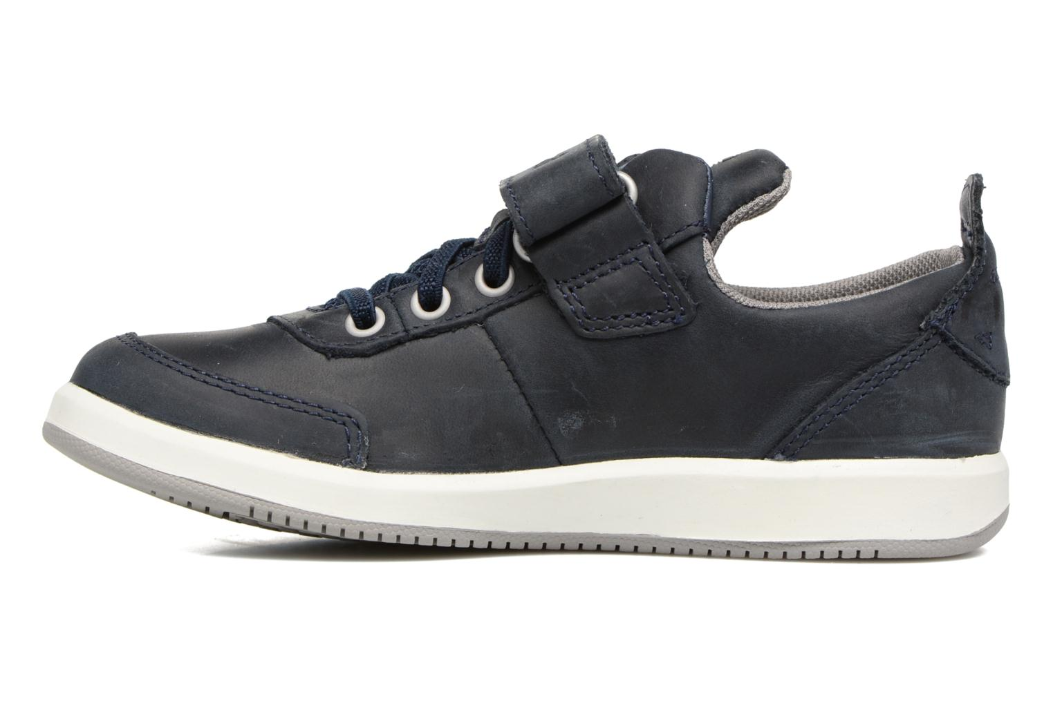 Baskets Timberland Court Side Oxford w/Strap Bleu vue face