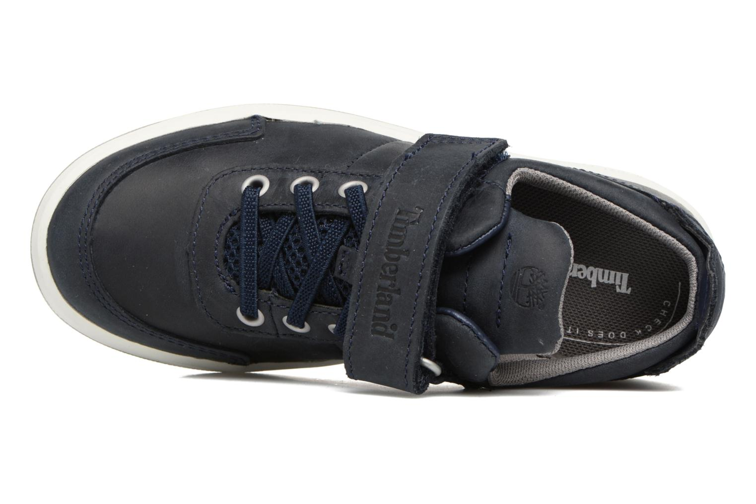 Baskets Timberland Court Side Oxford w/Strap Bleu vue gauche