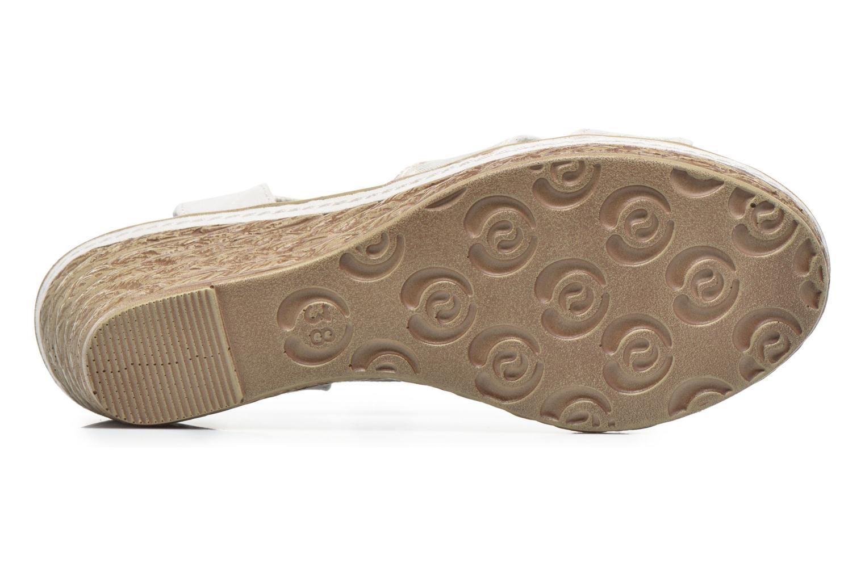 Sandales et nu-pieds Marco Tozzi Jaam Gris vue haut