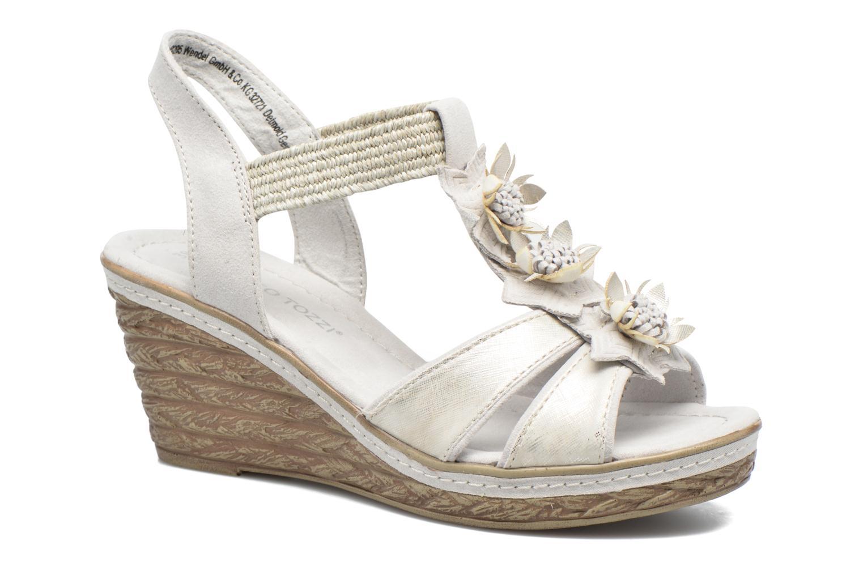 Sandales et nu-pieds Marco Tozzi Jaam Gris vue détail/paire