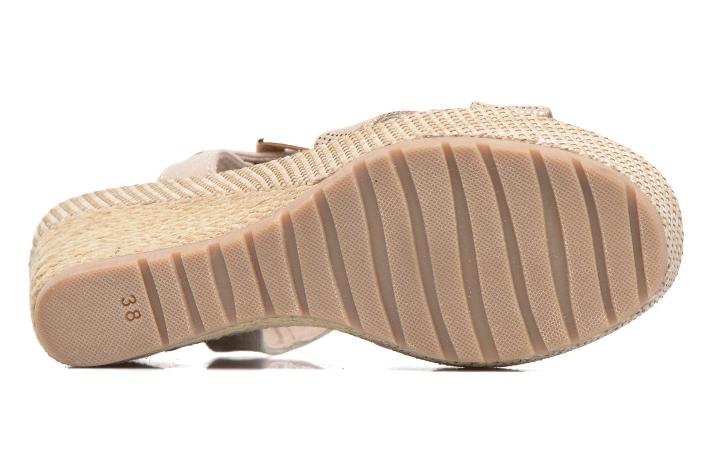 Sandales et nu-pieds Marco Tozzi Boladi Beige vue haut