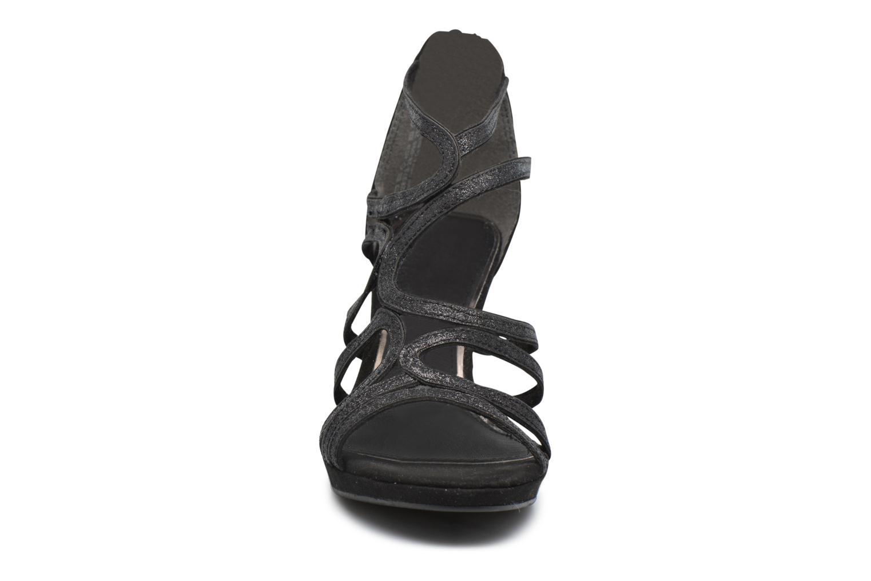 Sandales et nu-pieds Marco Tozzi Samo Noir vue portées chaussures