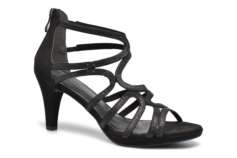 Sandales et nu-pieds Marco Tozzi Samo Noir vue détail/paire