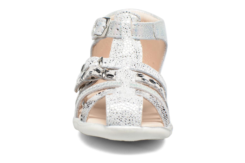 Sandales et nu-pieds GBB Perle Argent vue portées chaussures