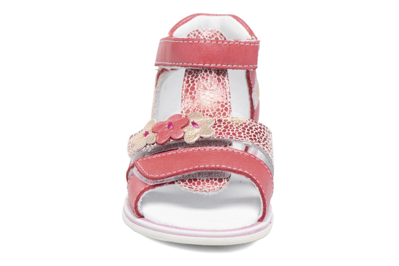 Sandales et nu-pieds GBB Ping Rose vue portées chaussures