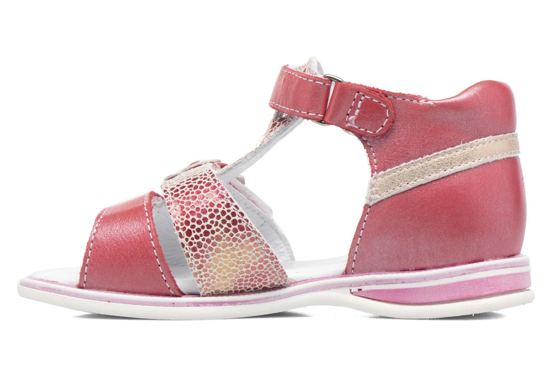 Sandales et nu-pieds GBB Ping Rose vue face