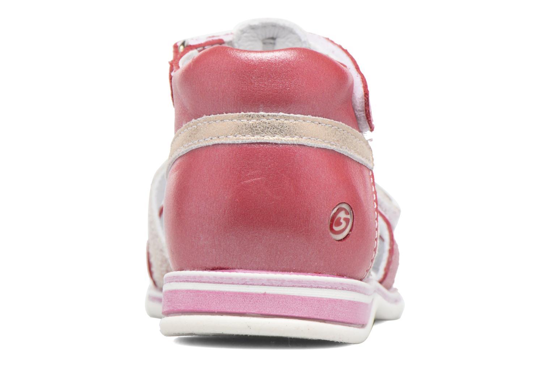 Sandales et nu-pieds GBB Ping Rose vue droite