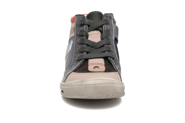 Baskets GBB Paris Bleu vue portées chaussures