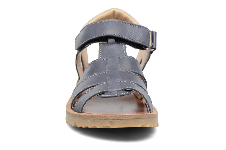 Sandales et nu-pieds GBB Pathe Bleu vue portées chaussures