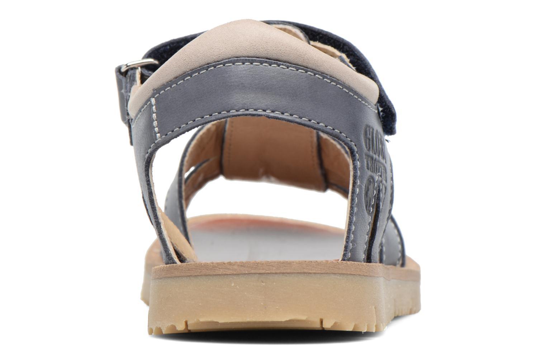 Sandales et nu-pieds GBB Pathe Bleu vue droite