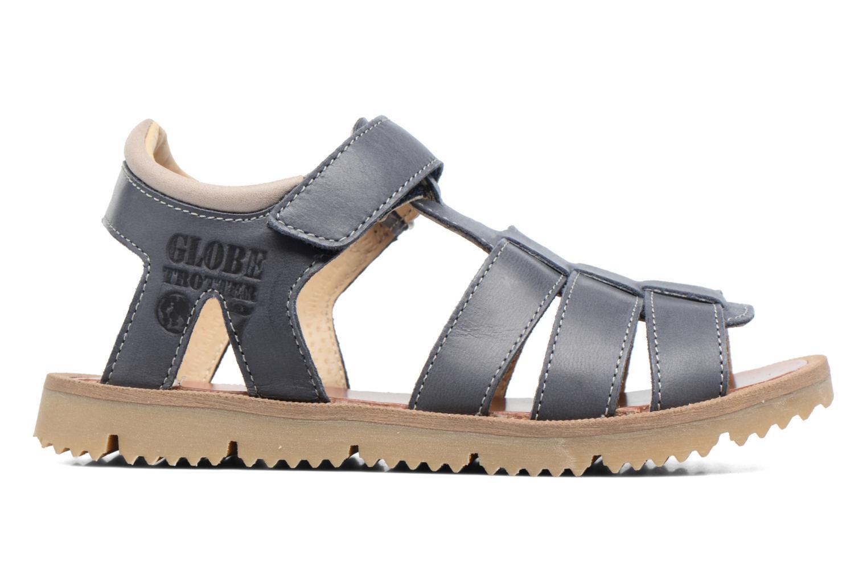 Sandales et nu-pieds GBB Pathe Bleu vue derrière