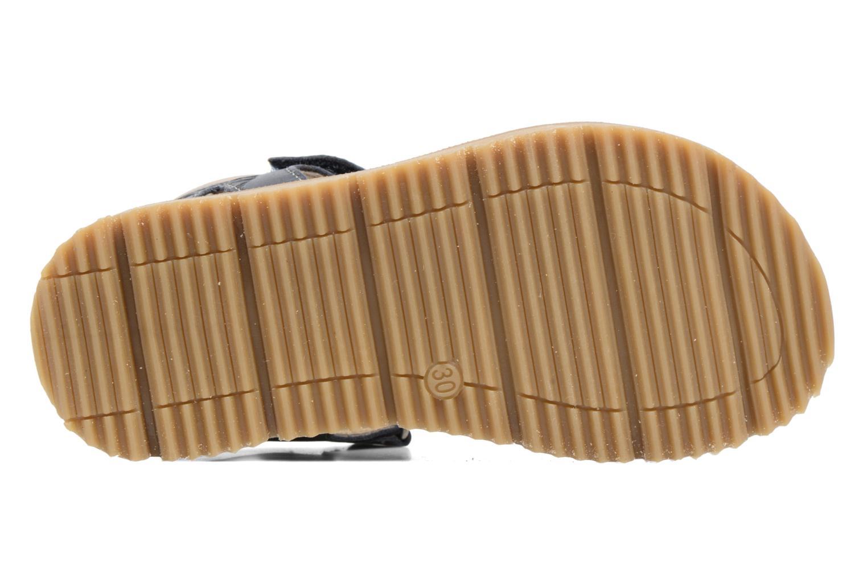 Sandales et nu-pieds GBB Pathe Bleu vue haut