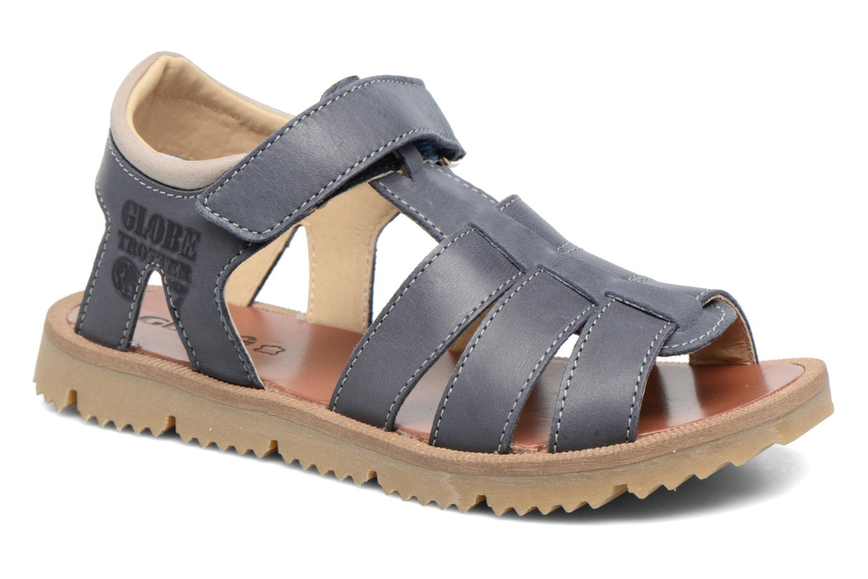 Sandales et nu-pieds GBB Pathe Bleu vue détail/paire