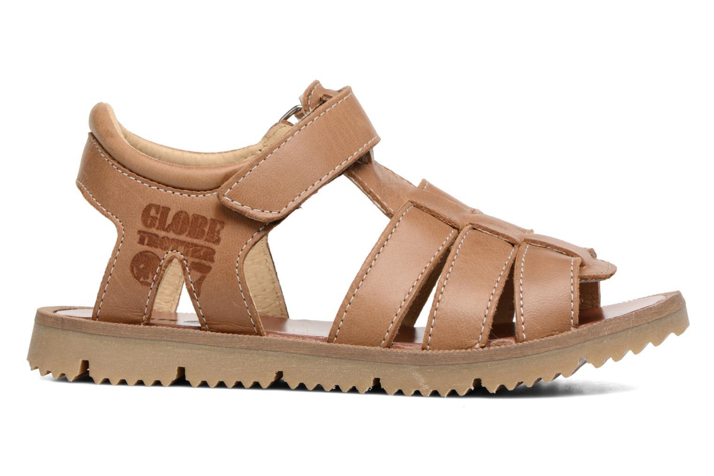 Sandales et nu-pieds GBB Pathe Marron vue derrière