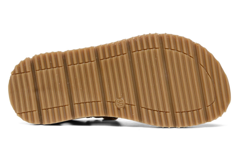 Sandales et nu-pieds GBB Pathe Marron vue haut