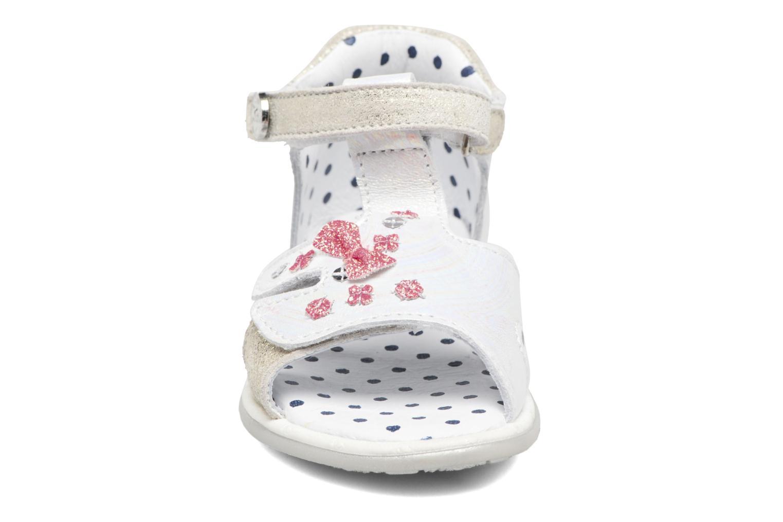 Sandales et nu-pieds Catimini Puce Argent vue portées chaussures