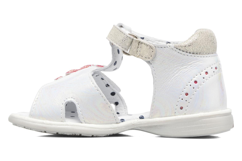 Sandales et nu-pieds Catimini Puce Argent vue face