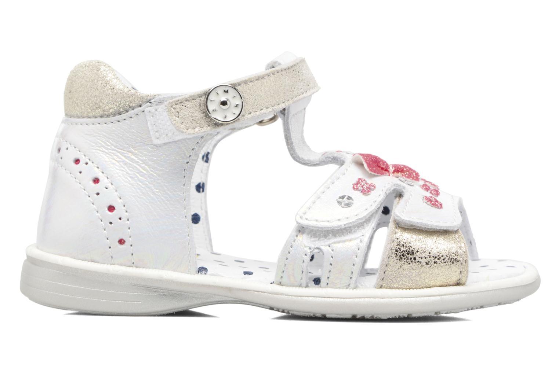 Sandales et nu-pieds Catimini Puce Argent vue derrière