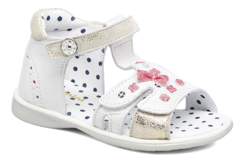 Sandales et nu-pieds Catimini Puce Argent vue détail/paire