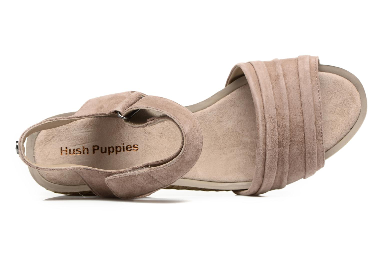 Sandales et nu-pieds Hush Puppies Eivee Beige vue gauche