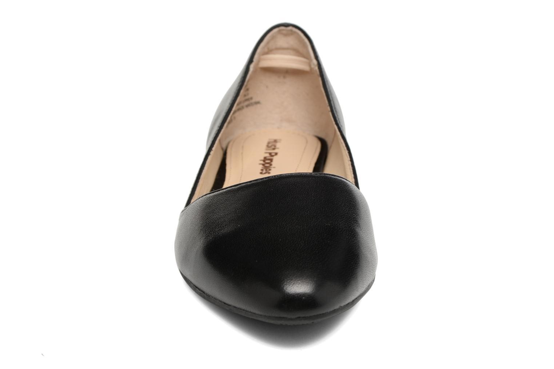 Ballerines Hush Puppies Jovanna Noir vue portées chaussures