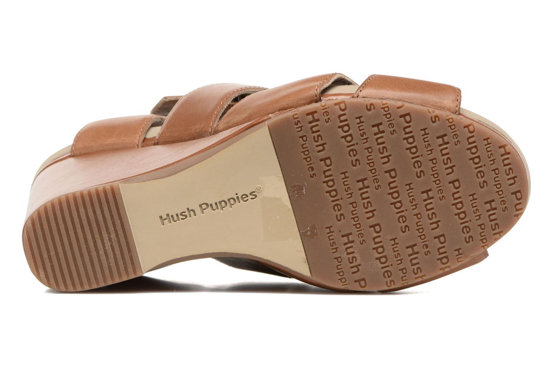 Sandales et nu-pieds Hush Puppies Fintan Marron vue haut