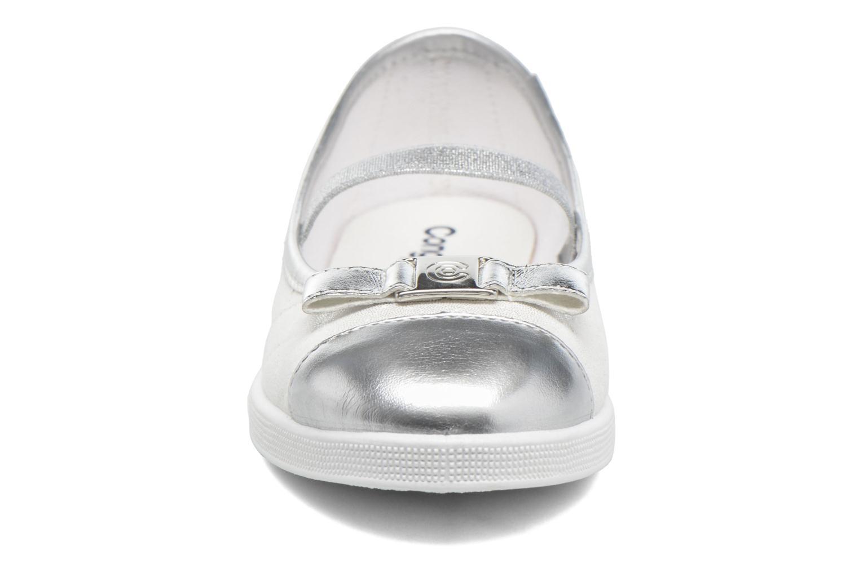 Ballerines Conguitos Ema Blanc vue portées chaussures