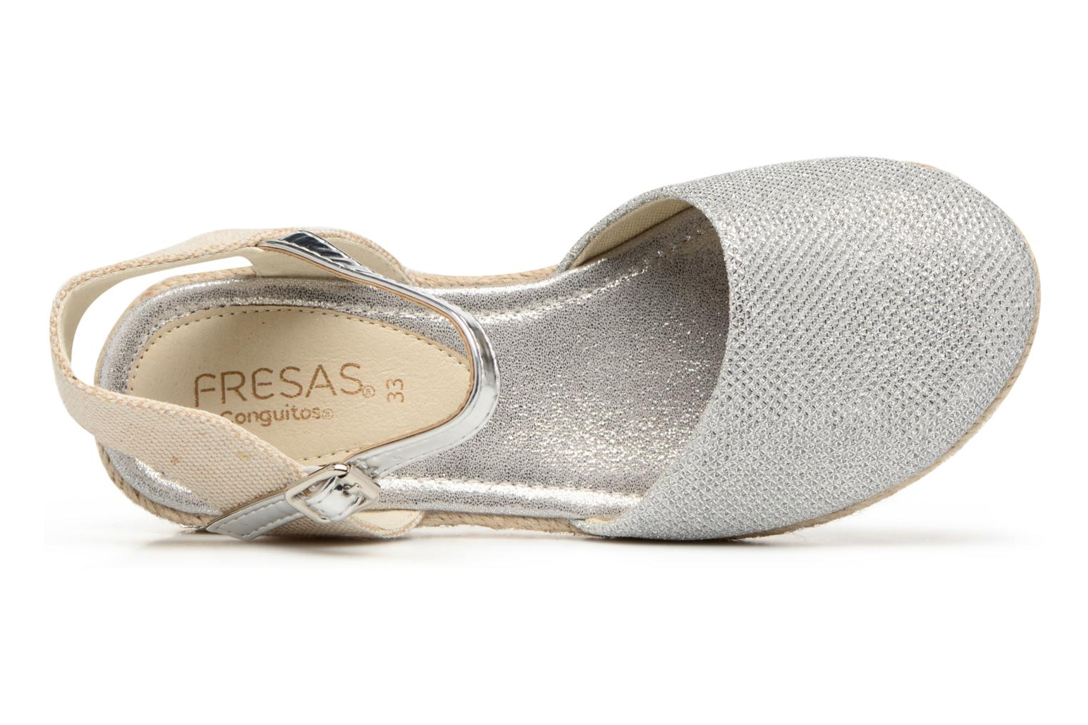Espadrilles Fresas by Conguitos Clara Zilver links