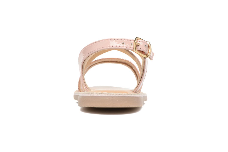 Sandales et nu-pieds Osito by Conguitos Alida Rose vue droite