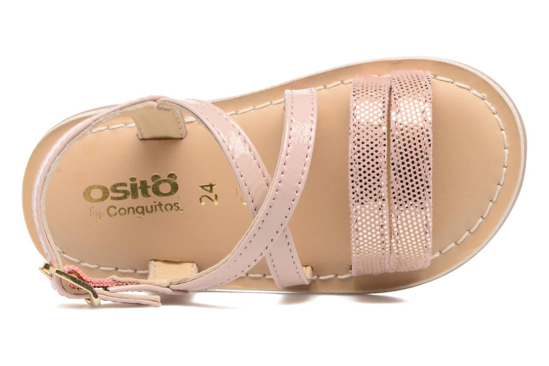 Sandales et nu-pieds Osito by Conguitos Alida Rose vue gauche