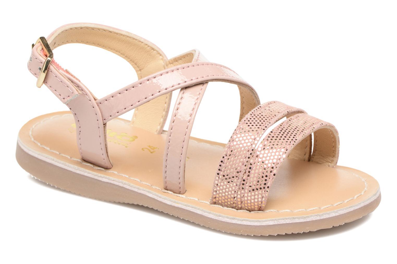 Sandales et nu-pieds Osito by Conguitos Alida Rose vue détail/paire
