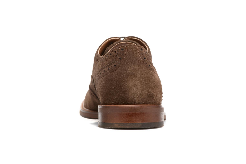 Chaussures à lacets Aldo BARTOLELLO-R Marron vue droite