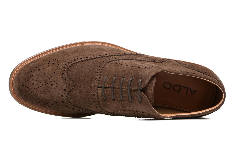 Chaussures à lacets Aldo BARTOLELLO-R Marron vue gauche