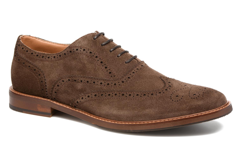Chaussures à lacets Aldo BARTOLELLO-R Marron vue détail/paire