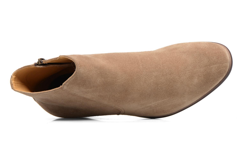 Bottines et boots Aldo SWIFT Beige vue gauche