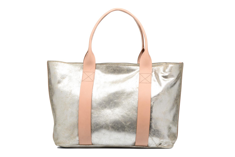 TASMIN BELLA Cabas cuir Silver
