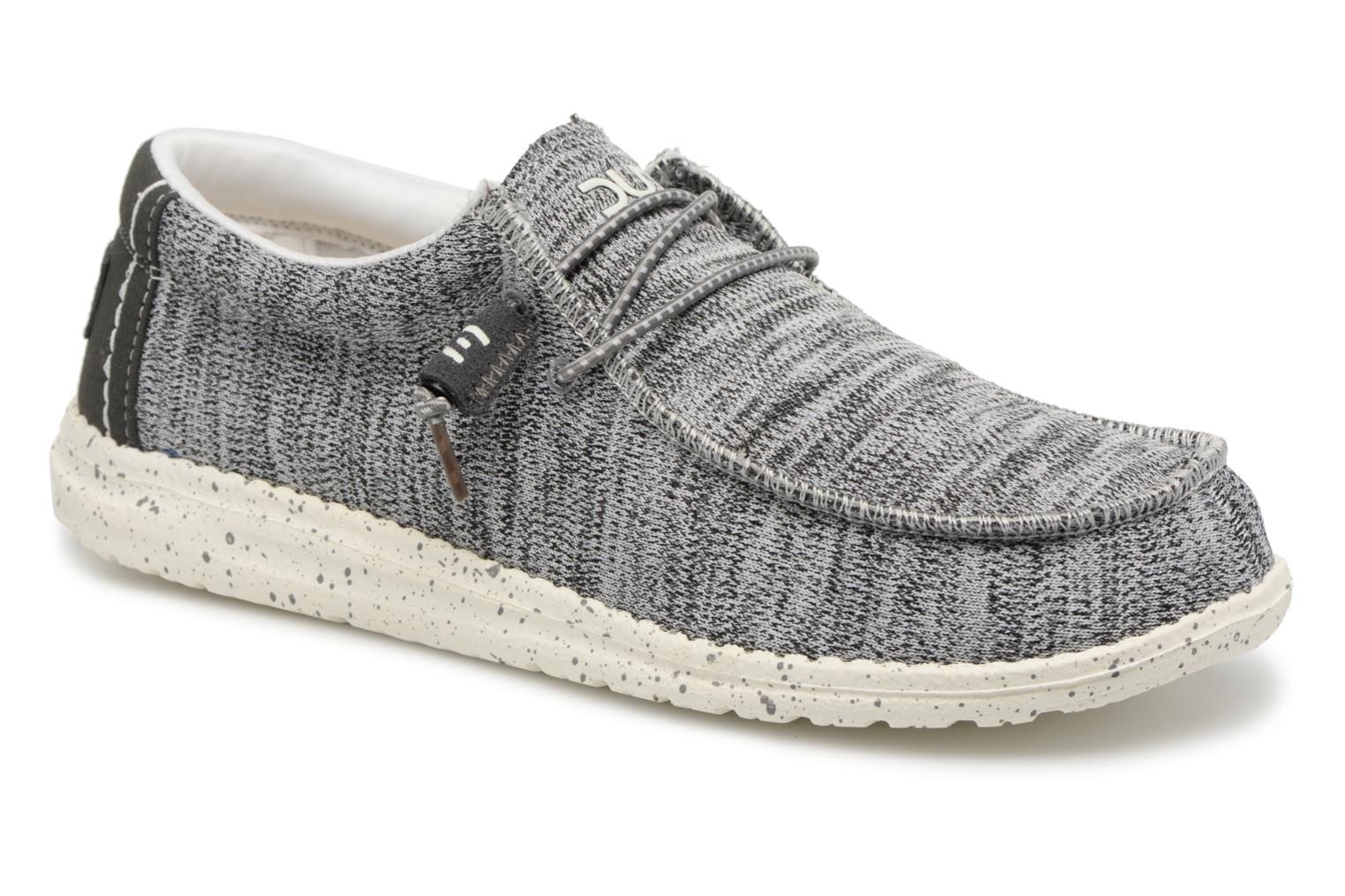 Loafers DUDE Wally Sox Grey detailed view/ Pair view