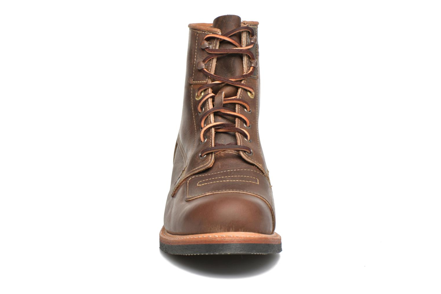Ankle boots Timberland Smugglers Notch 6 Li Brown model view