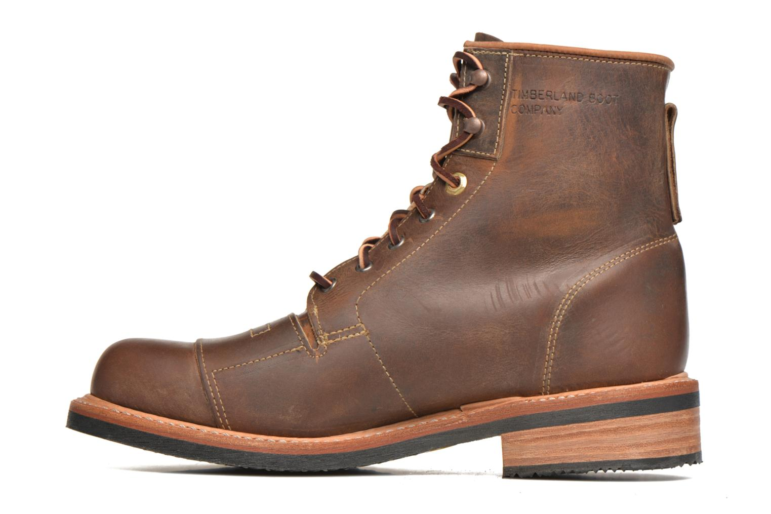 Ankle boots Timberland Smugglers Notch 6 Li Brown front view