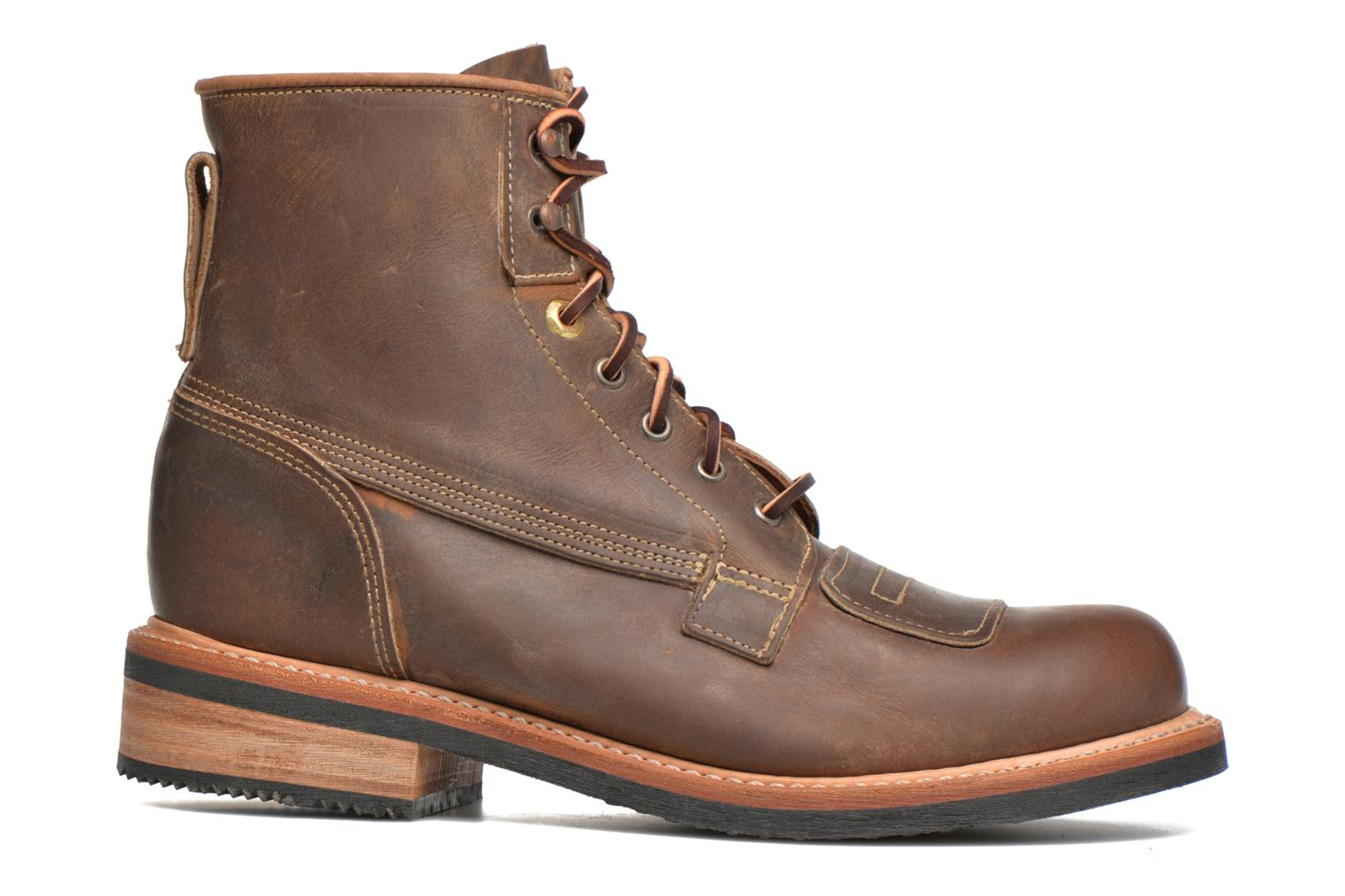 Ankle boots Timberland Smugglers Notch 6 Li Brown back view