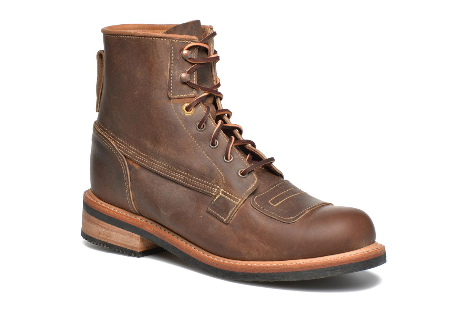 Bottines et boots Timberland Smugglers Notch 6 Li Marron vue détail/paire